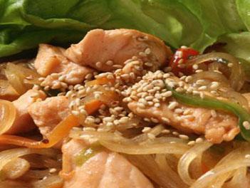 лосось по-китайски