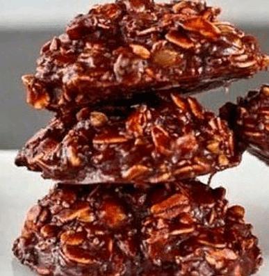 Овсяное печенье за 5 минут без выпечки