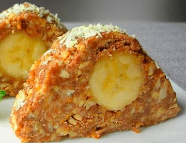 Пирожное без выпечки Карпаты