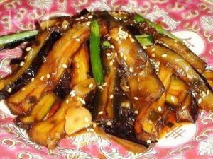острая закуска баклажаны по-корейски