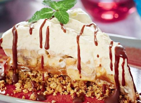 Баноффи пай десерт без выпечки
