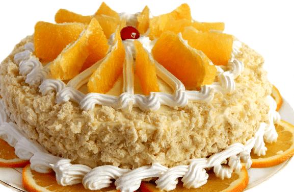 Мандариновый торт как приготовить новогодний торт