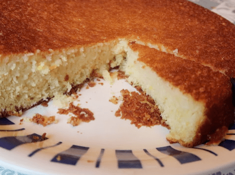Лимонно йогуртовый пирог