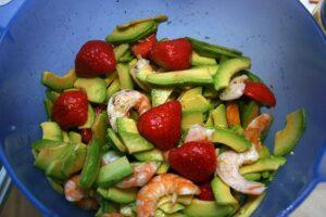 Салаты с авокадо